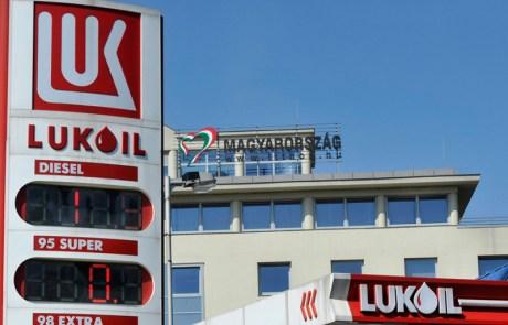 Pér, Lukoil töltőállomás