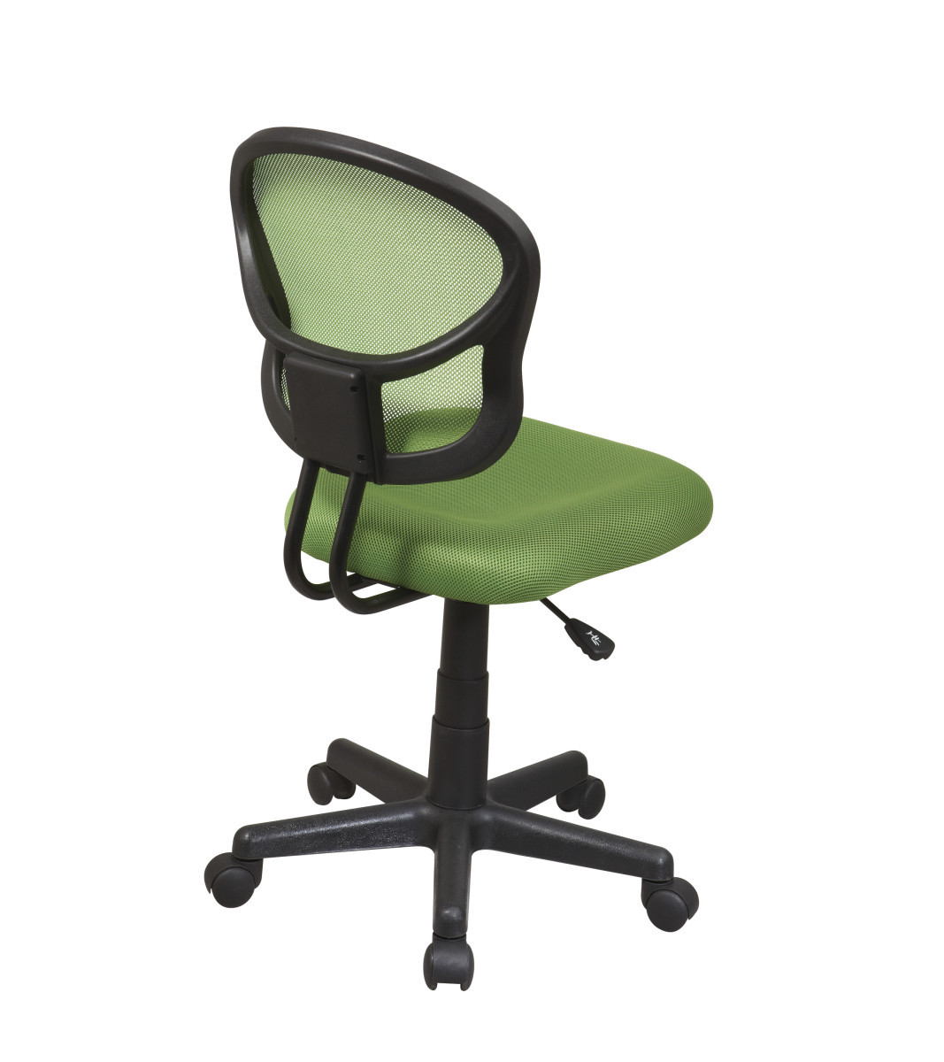 Best Task Chair 2015 Mesh Task Chair In Green Fabric Ergoback