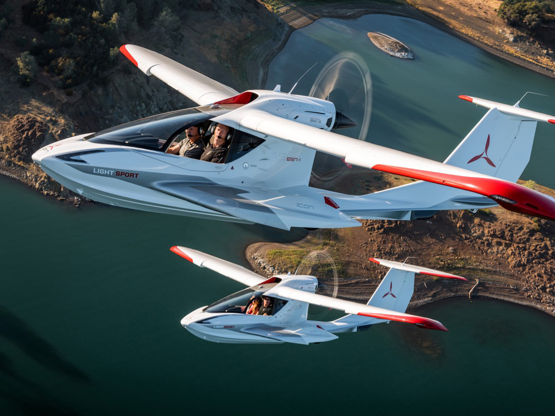 Light Sport Aircraft Icon A5 Light Sport Aircraft Ergonomic Mobility