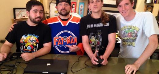Eric P. Metze, Kevin Smith, Jason Mewes, and Kevin Clancy