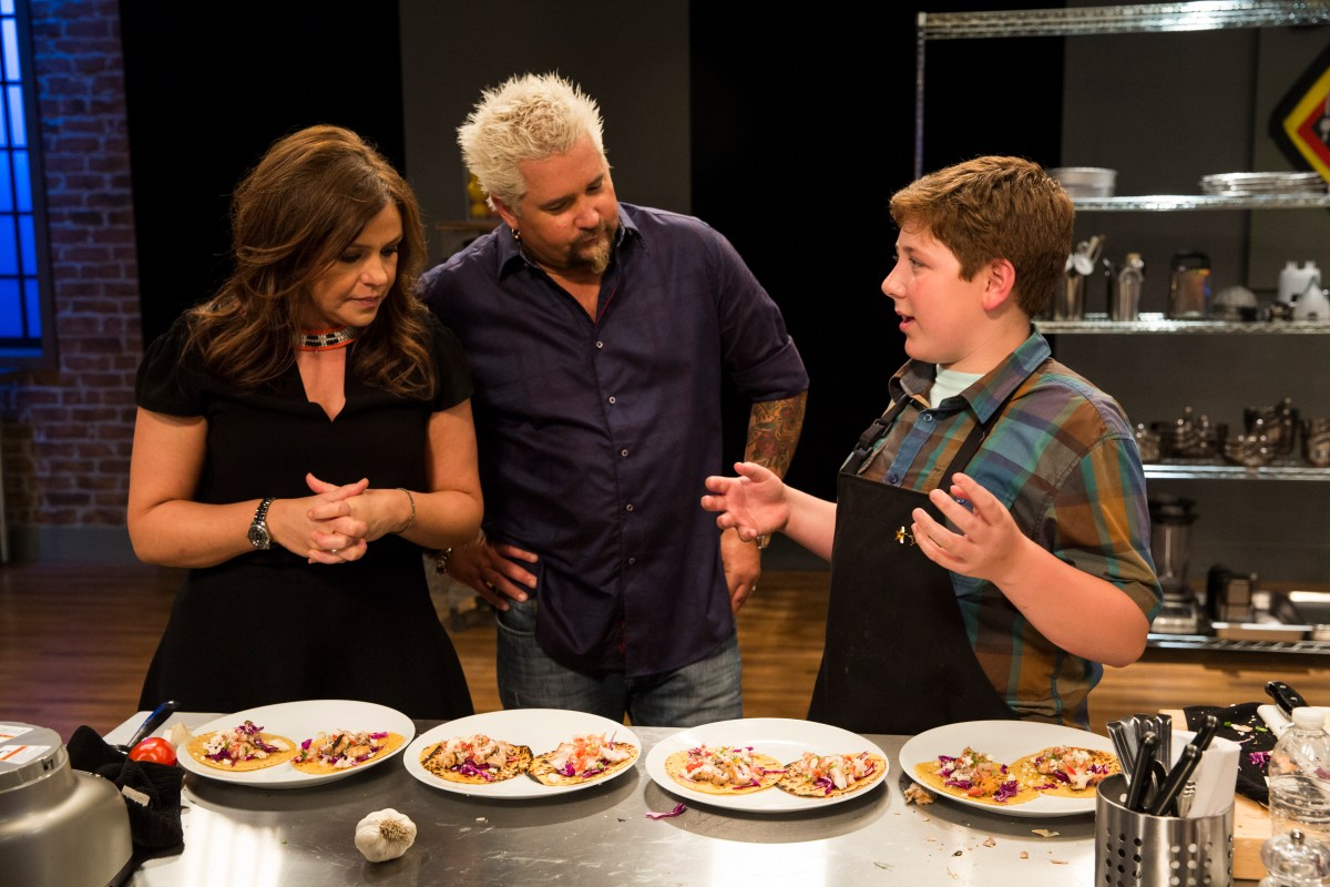 Rachael Vs. Guy: Kids Cook-Off Winner, Gibson Borelli - New FoodNetwork.com Series, The Jersey Shore Kid