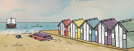 Felixstowe Book Festival. Illustration by BEE WILLEY