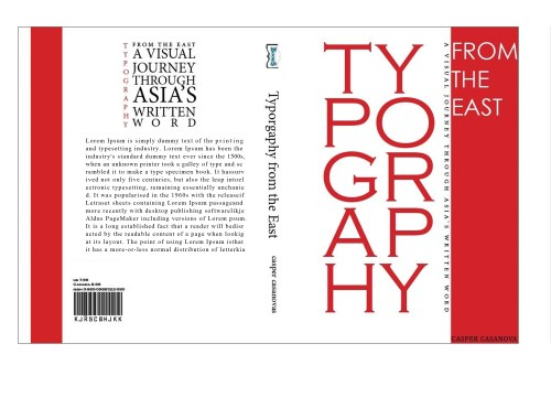 Book Cover: Typography from the east
