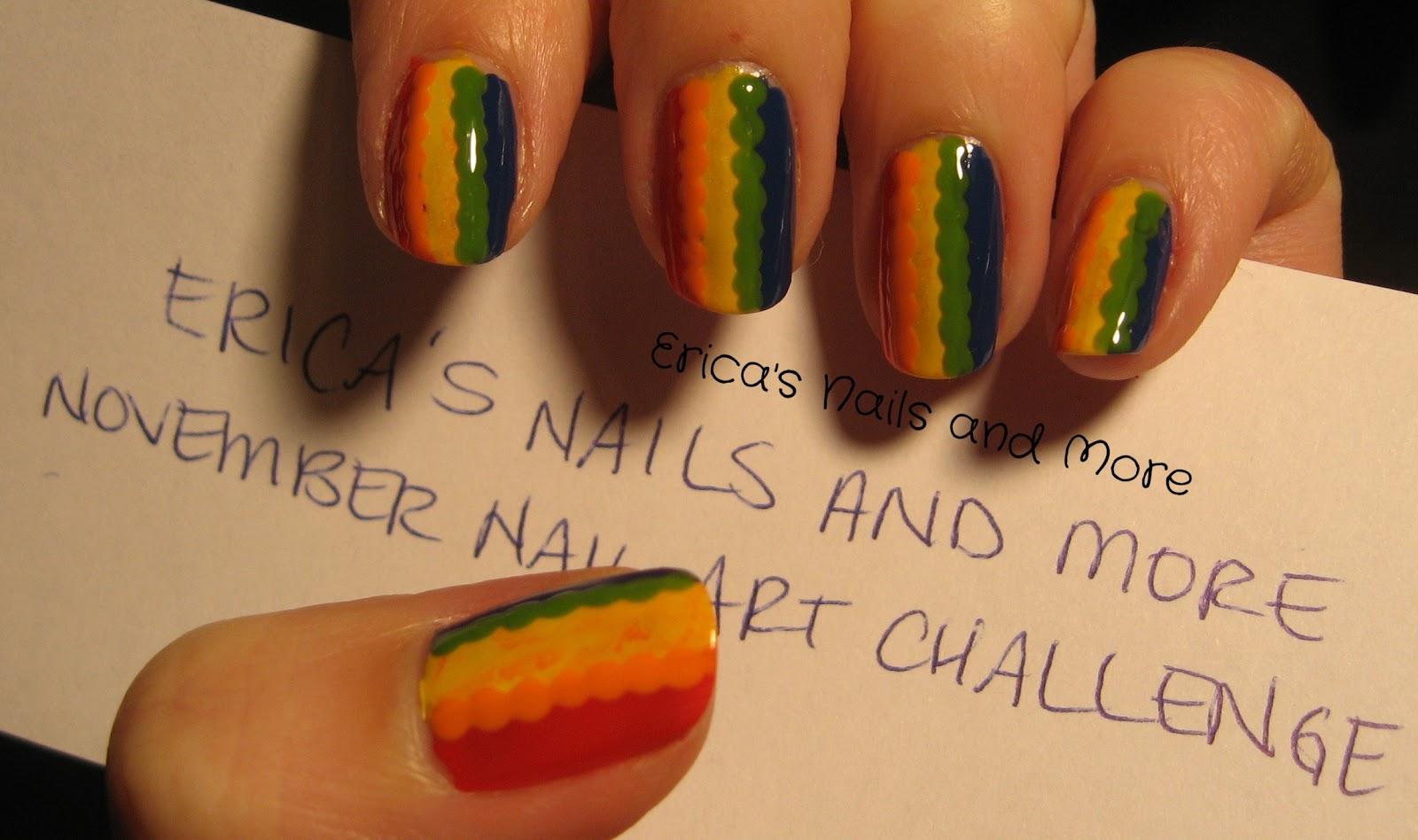 November Nail Art Challenge Erica39s Nails And More Page 2