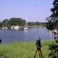 Land Surveying in a Swamp with a Trimble 4800 RTK GPS and Leica 1200 Robotic Total Station