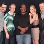 with cast of modern family