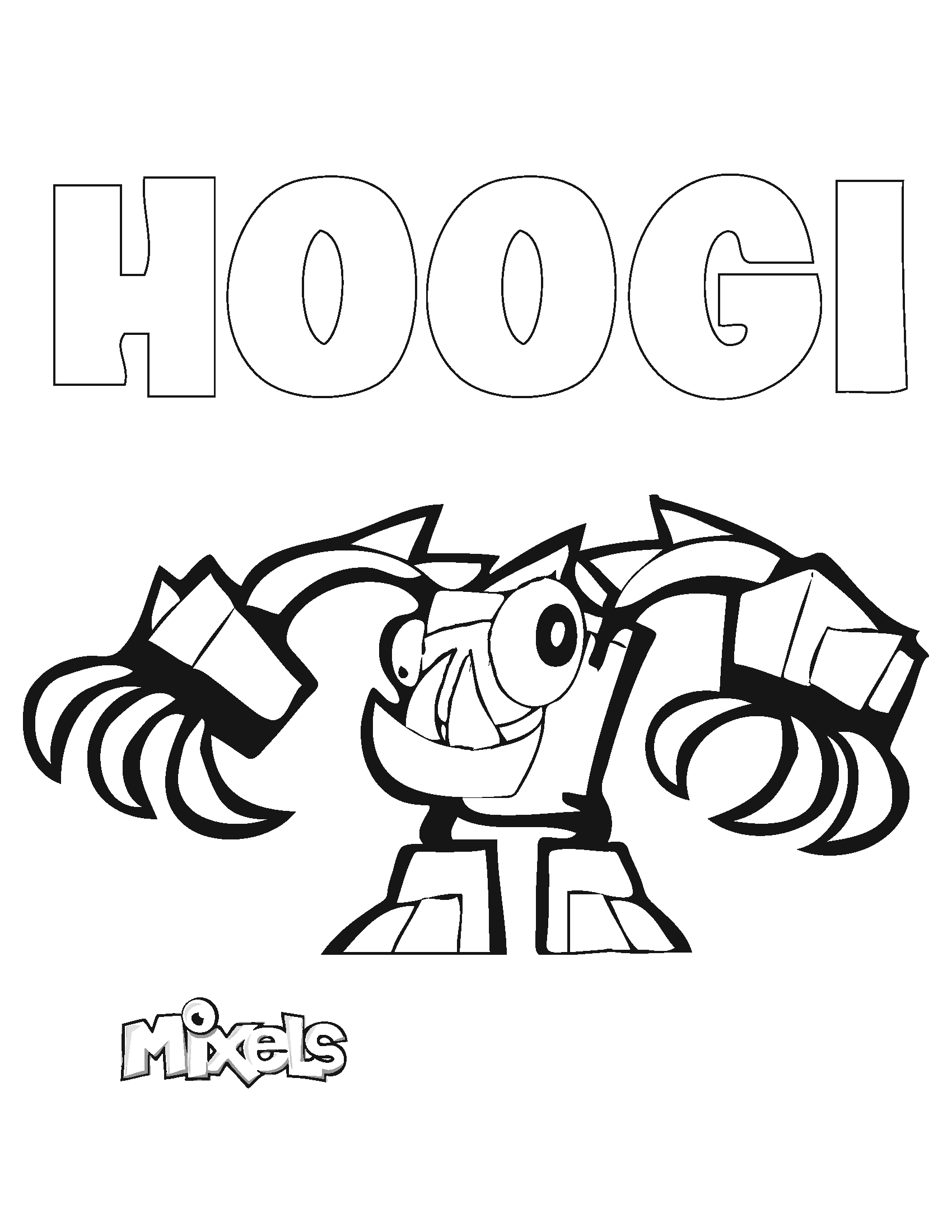 mixels coloring pages to print - photo#26