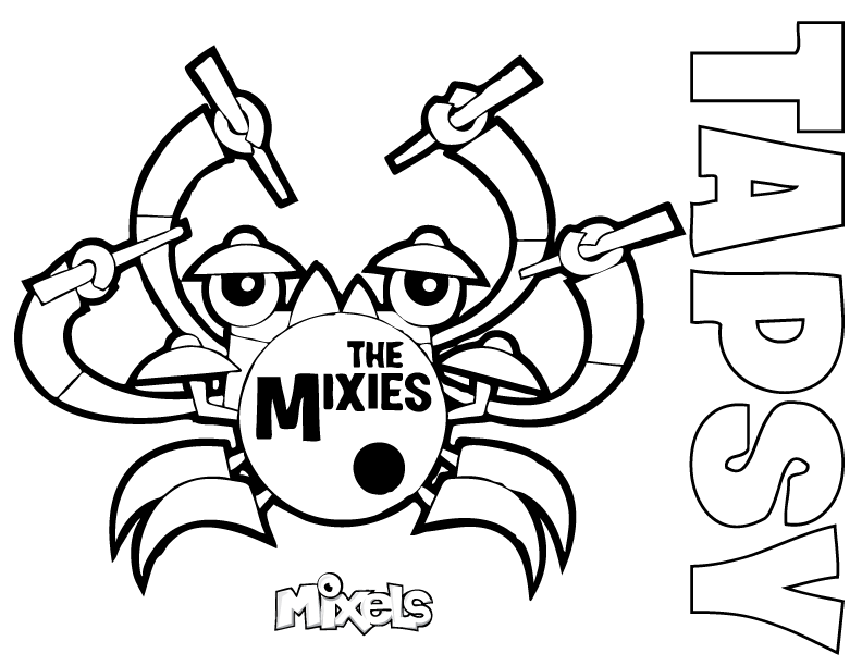 mixels coloring pages to print - photo#18