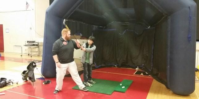 Eric Jones Golf Academy In Local Schools