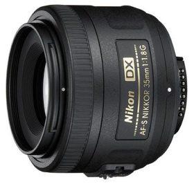 Nikon 35mm f/1.8 Lens (ideal for full-frame Nikons)