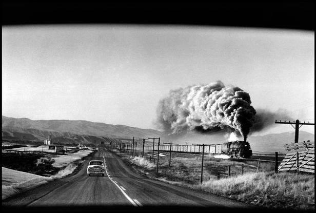 USA. Wyoming state. 1954.