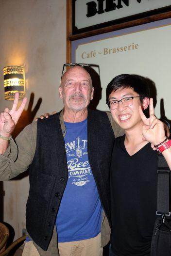 Photo with David Alan Harvey