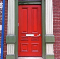 Red Doors: Lawrenceville House I | The Ongoing History of ...