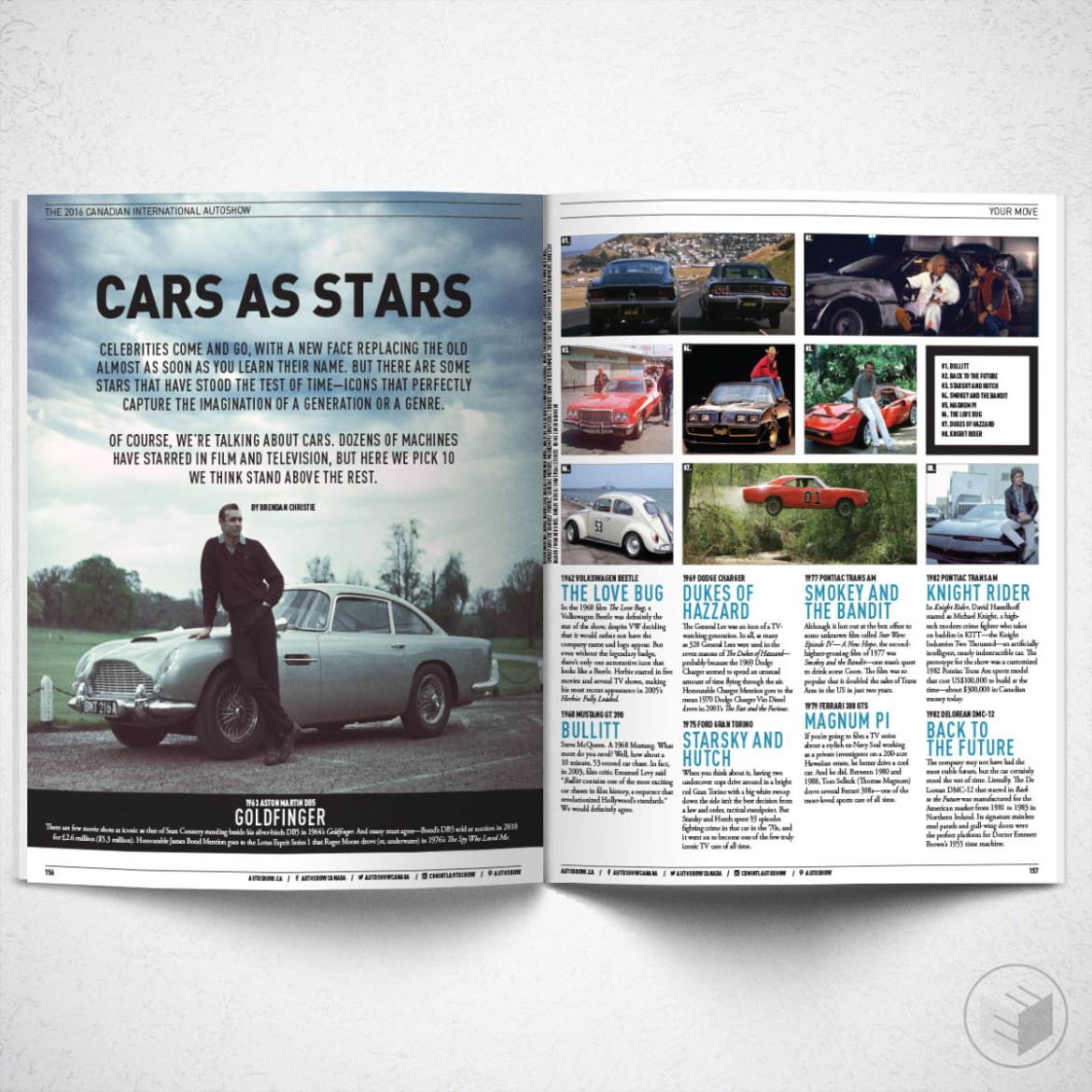 CANADIAN INTERNATIONAL AUTOSHOW 2016 MAGAZINE FEATURE