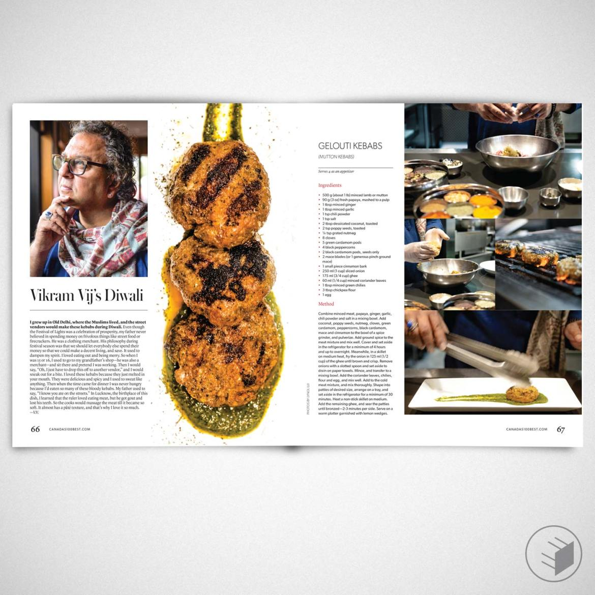 CANADA'S 100 BEST: THE COOKING ISSUE FEATURE
