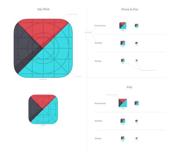 Project I iOS App \u2013 Visual Research Graphic Design Intermediate - iphone app icon template