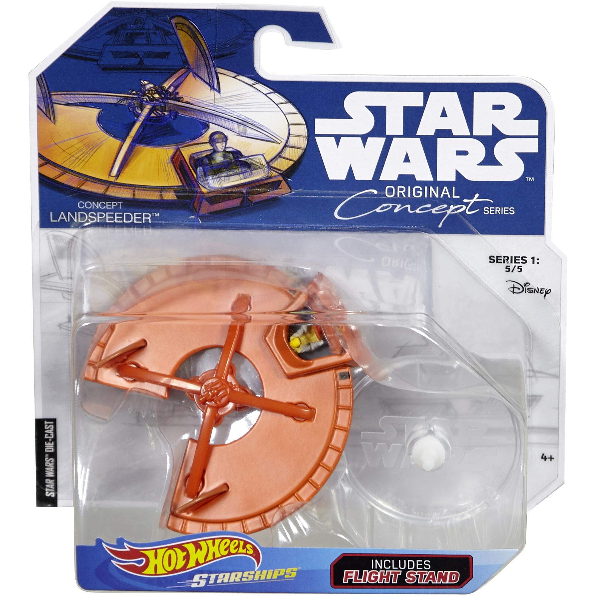 Disney Diecast X Wing Brand New Line Of Hot Wheels Star Wars Starships Concept