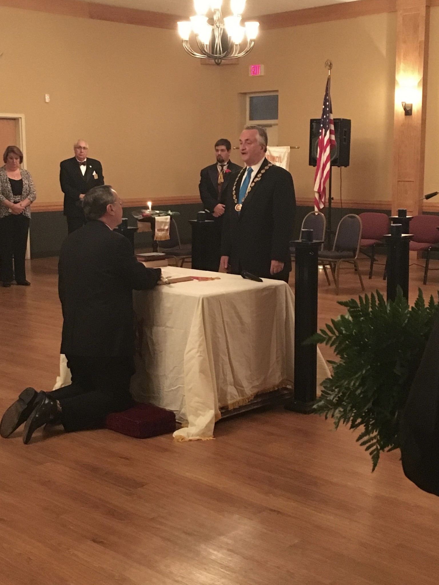 Natale Masonry Grand Master Received Demolay Legion Of Honor Erie Masonic District