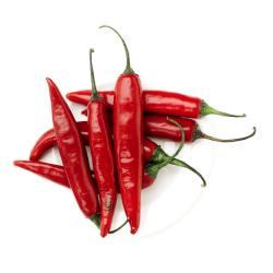 Small Crop Of Thai Chili Pepper