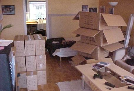 I am king of boxes