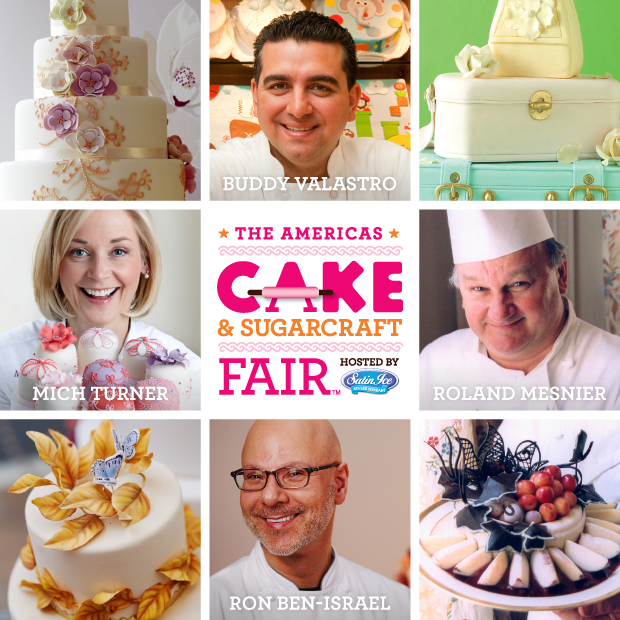 Cake & Sugarcraft Fair | Satin Ice | Erin Bakes