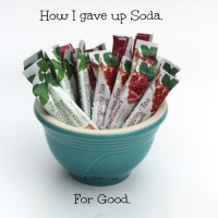 How to give up Soda for GOOD.
