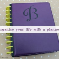Organize your Life with a Planner