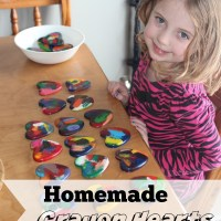 Homemade Crayon Hearts
