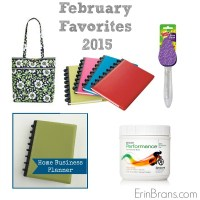 February 2015 Favorite Things