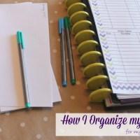 How I Organize my Taxes
