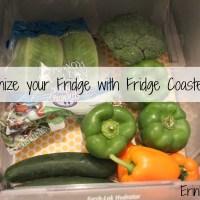 Organize your Fridge with Fridge Coaster
