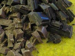 A Lot of Chopped Chocolate