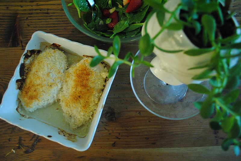 Ricardo: Parmesan-crusted chicken