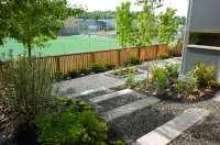 gravel garden design | Erin Lau Design