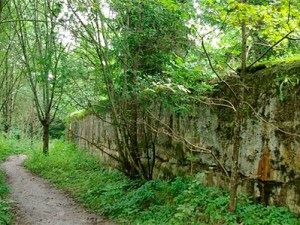 Masuren: Geheimnisvolle Bunker des OHK in Mauerwald, Foto: Janericloebe, gemeinfrei