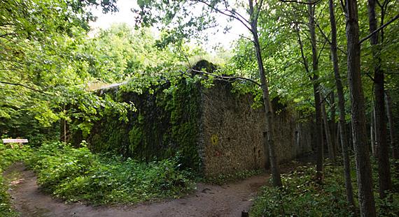 Bunkeranlage Mauerwald – Versteck des Bernsteinzimmers? Foto: Honza Groh, CC BY-SA 3.0