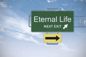 eternal life roadsign