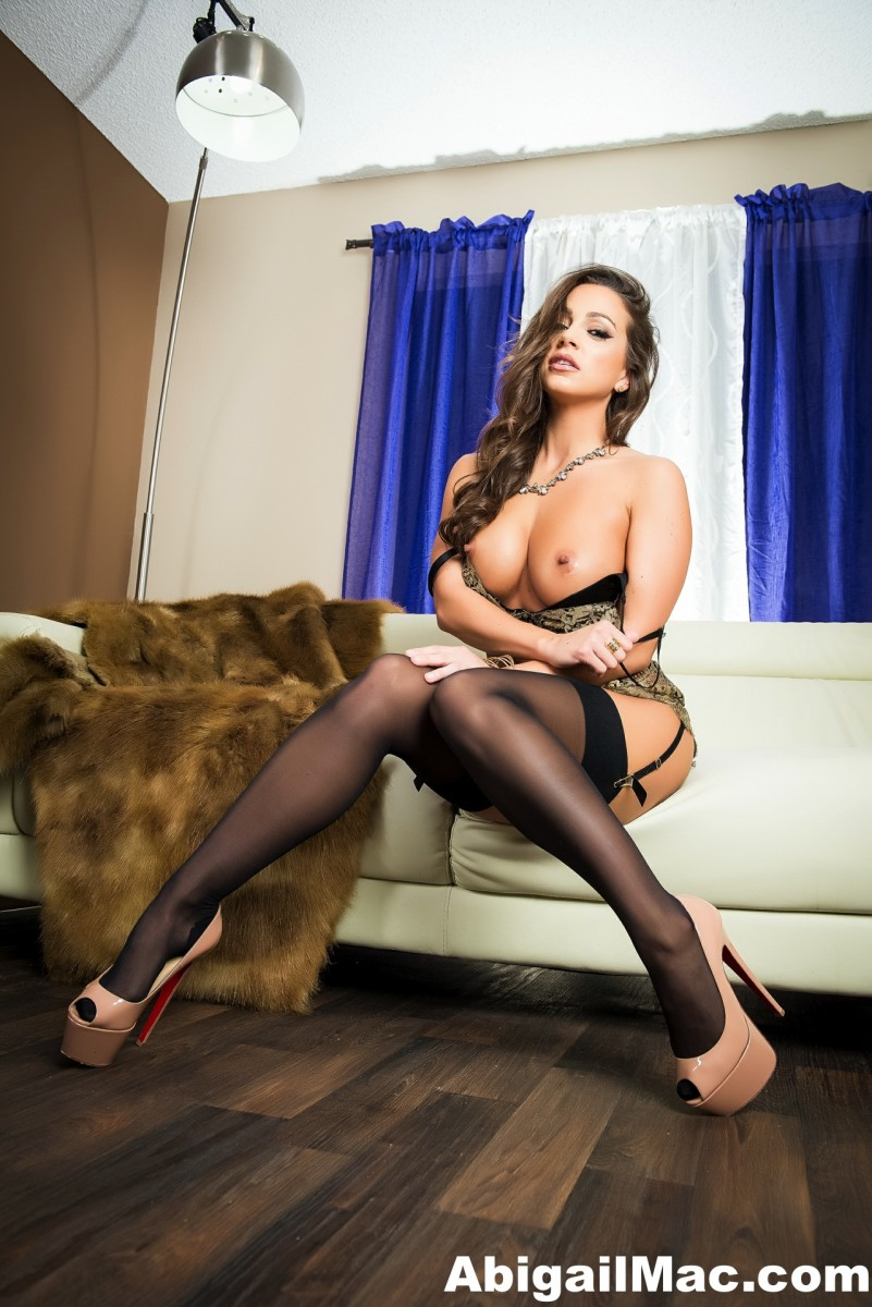 Abigail Mac Pornstar in Sexy Lingerie