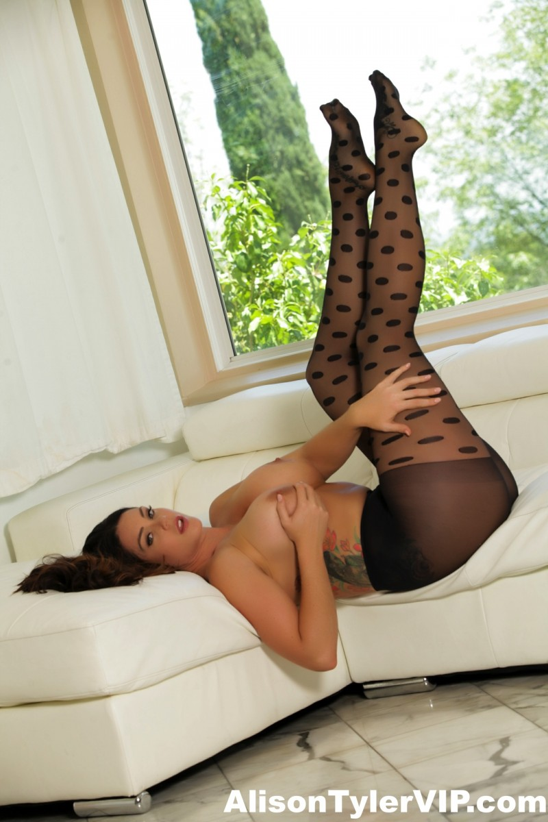 Alison Tyler Topless in Pantyhose