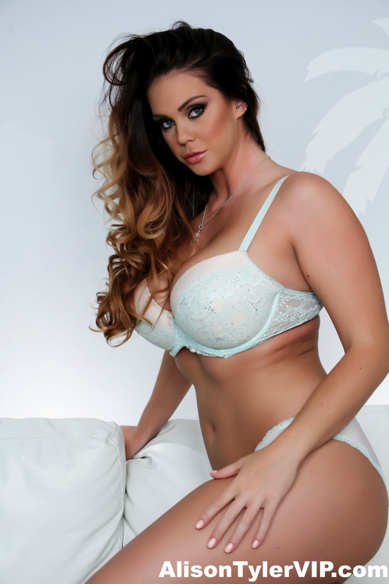 Alison Tyler Strips and Teases