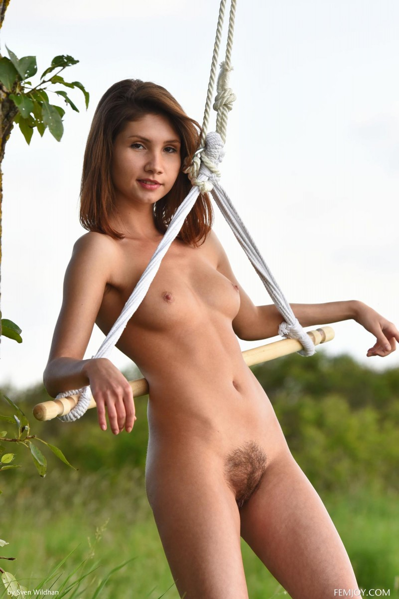 Arlene V Naked in the Outdoors