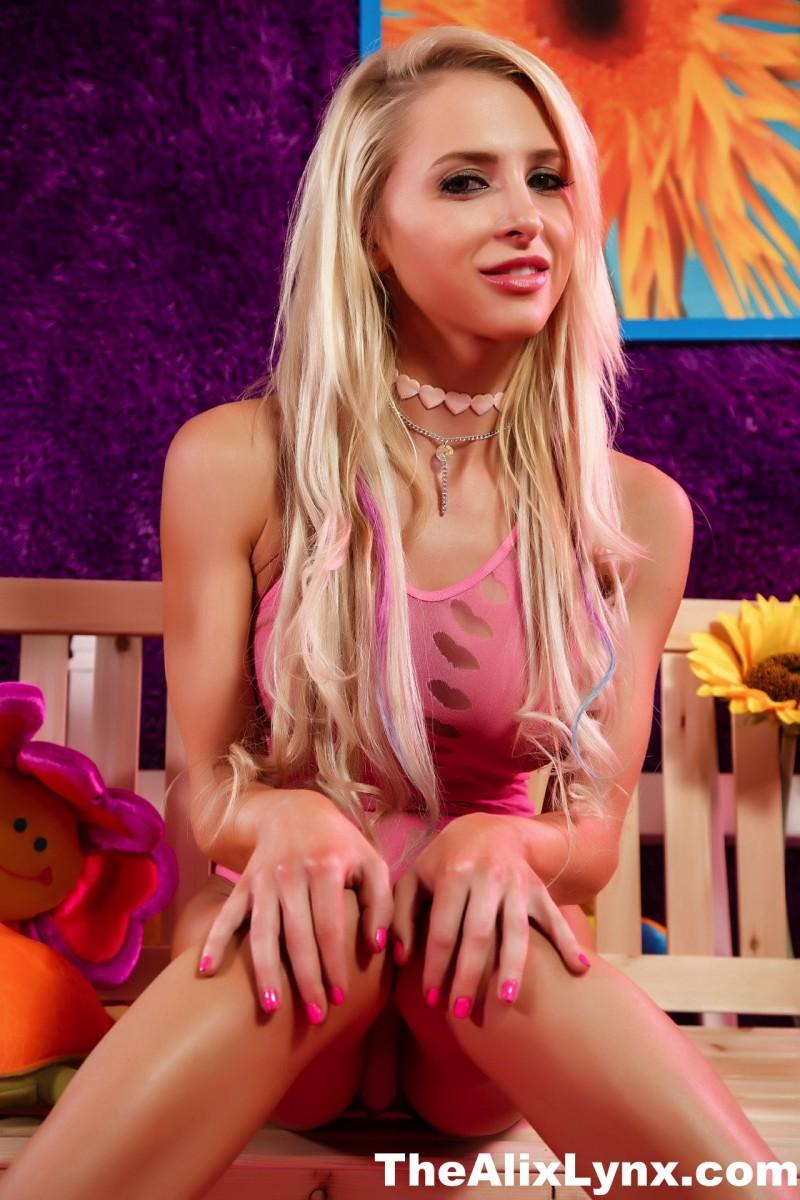 Alix Lynx Pink Bodysuit