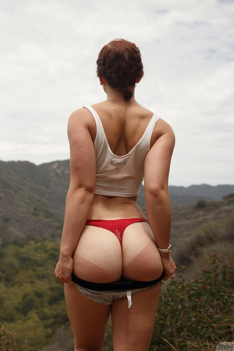 Spencer Bisson Red Hot Hiking Girl