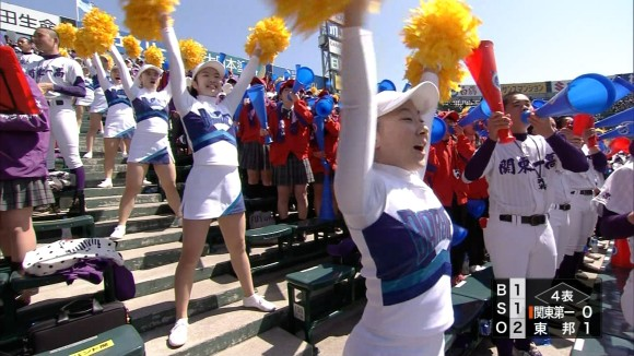 即ハボ…我慢汁出まくりな10代小娘チアガールの春の選抜高校野球大会2016のえろキャプ写真がぐうしこwwwwwwwwww