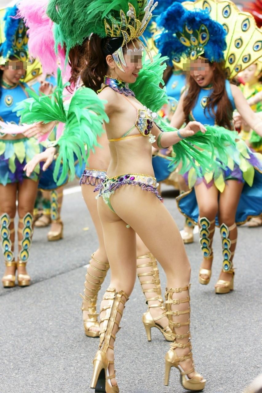 露出狂が挙って出席したと言われるサンバカーニバルの様子がカオス過ぎるwwwwwwwwww(写真あり)
