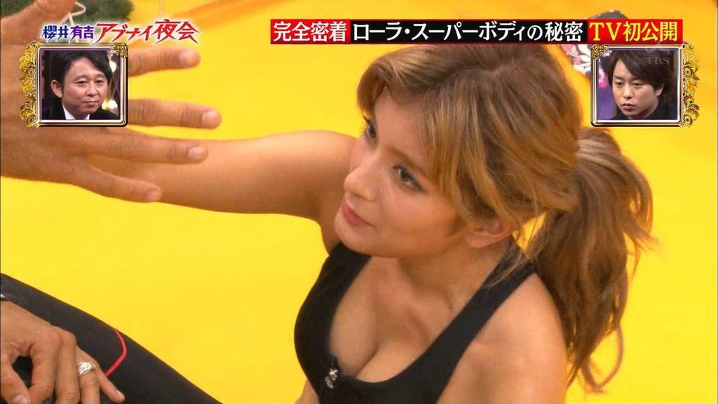 (TVえろキャプ写真)アイドルって簡単にお乳見せてくれるんだな☆胸チラから本格ポ少女まで色々あるしおなにー捗るわwwwwww
