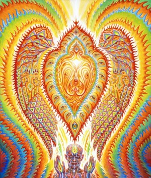 "Alex Grey ""Seraphic Transport"""