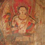 Bodhisattva,_wall_painting_in_the_Dukhang,_Tabo_monastery,_Spiti._ca._1st_half_of_the_11_century,_possibly_1040s.