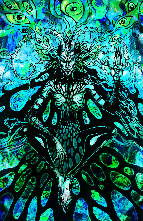 Demonic Dark Trip by Limbic Splitter