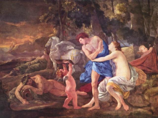 Cephalus and Aurora 1627-1630 Nicolas Poussin